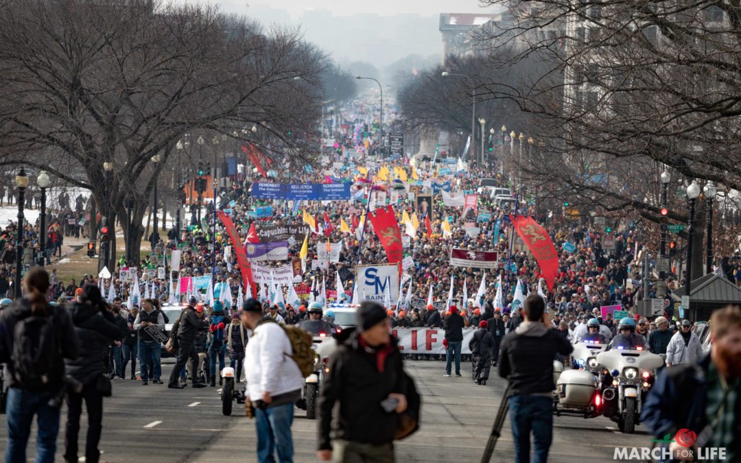 January 24th, 2020:  March for Life Rally and March